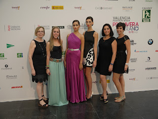 Dolores en Valencia Fashion Week 2012