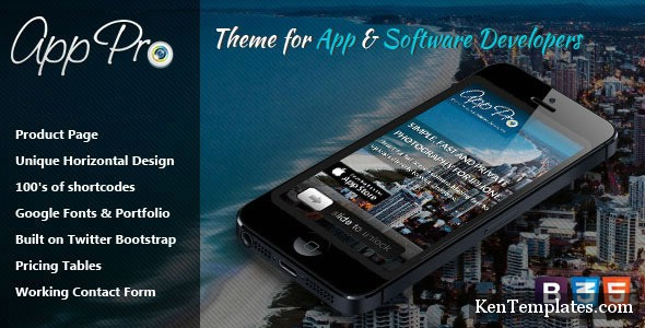 App Pro - Theme for App & Software Developers