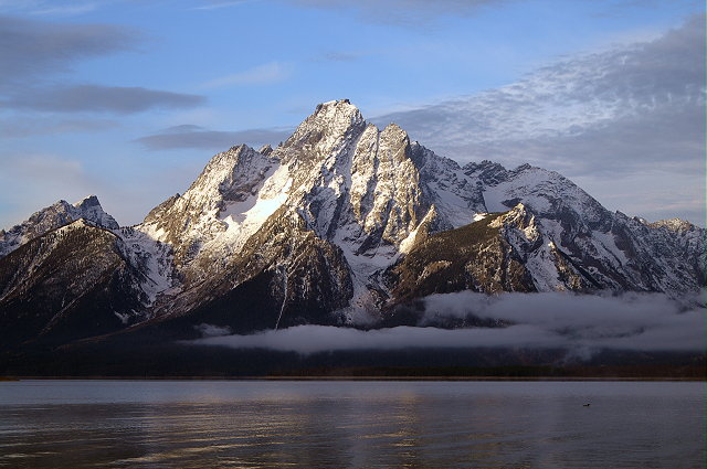 Mount Moran is a perfect creation of God