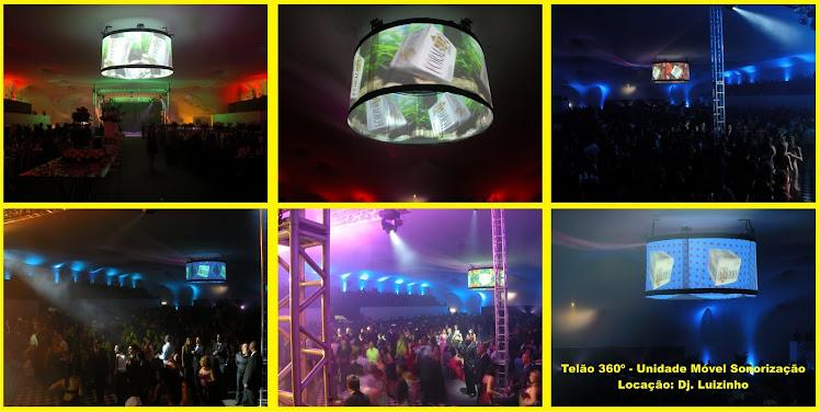 TELÃO 360º - Nova opção para seu evento.
