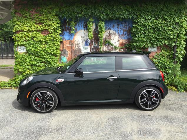2016 New MINI Cooper Design by Jhon works side view