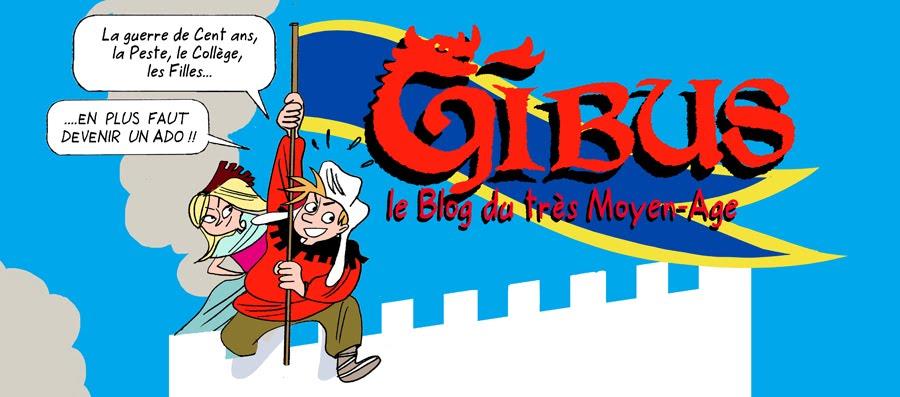 Gibus la BD