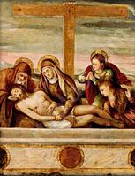 Pietà di Andrea Meldolla