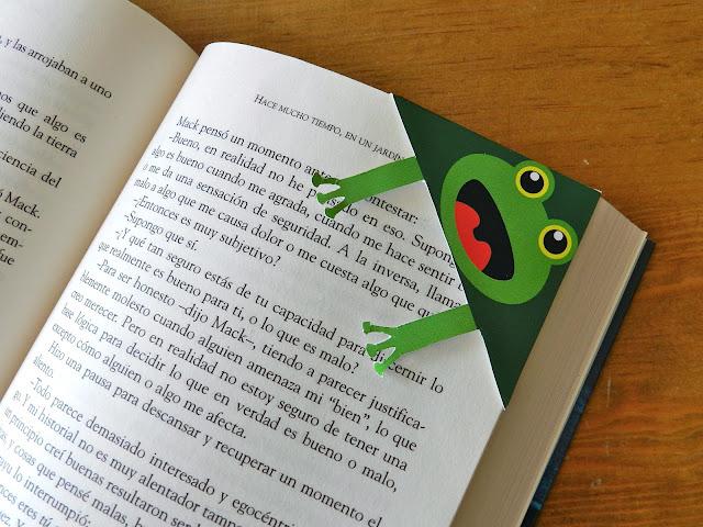 Como hacer un separador de libros original imagui - Como hacer un libro hueco ...