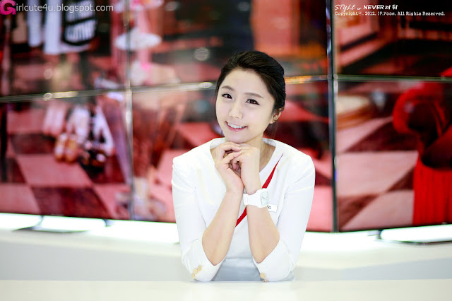 1 Kim Ha Eum - World IT Show 2012-very cute asian girl-girlcute4u.blogspot.com