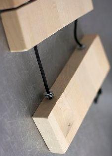 penghubung antar kayu dari tali