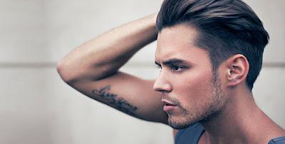 Cara Ampuh Meluruskan Rambut Pria dengan Bahan Alami