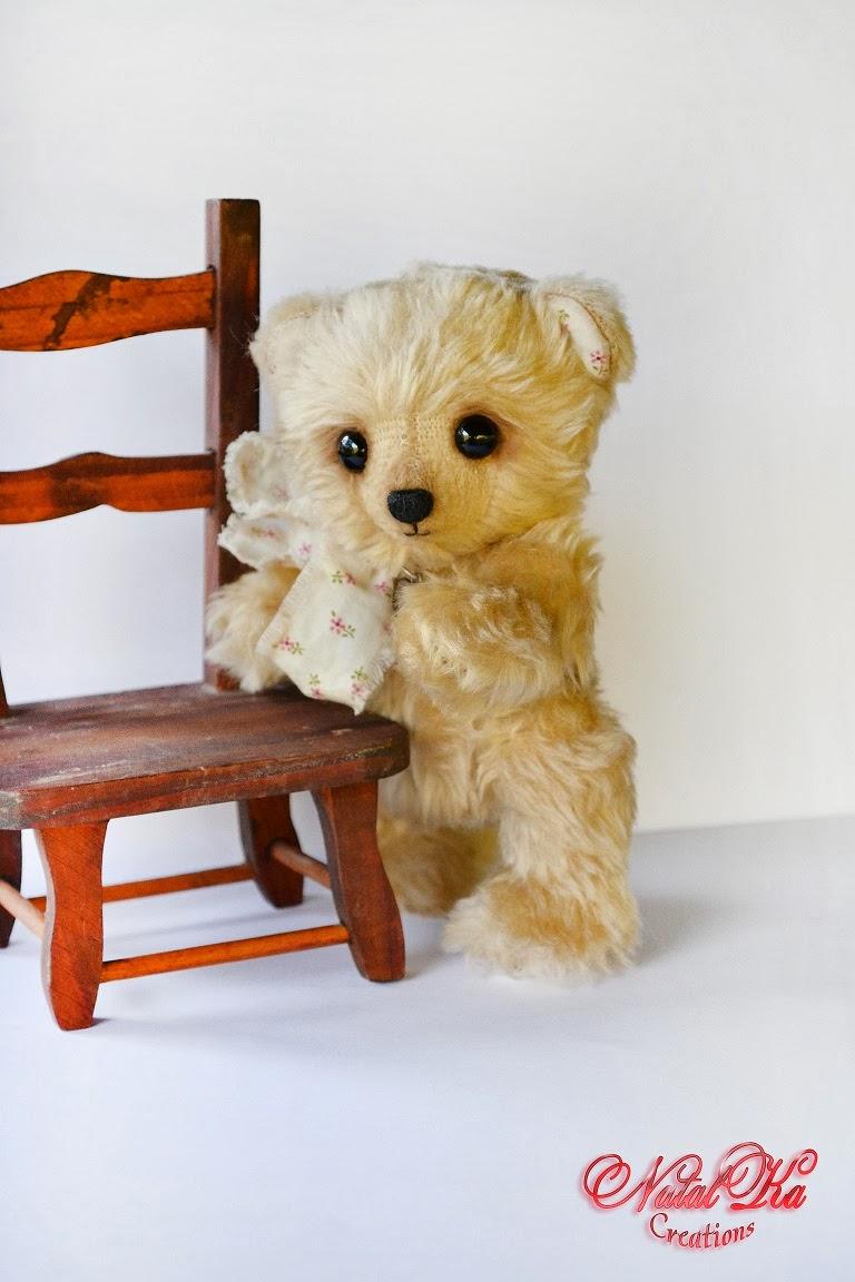 Авторский мишка тедди. Artist teddy bear