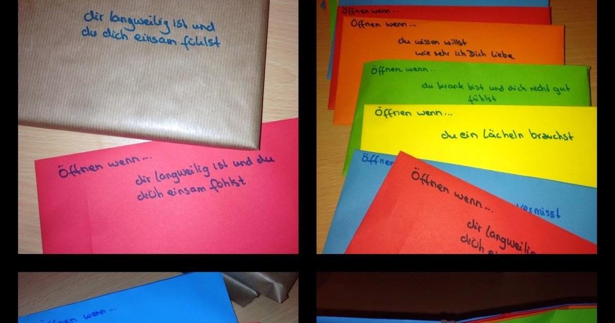 Swenja's kreatives Kopfkino ♥: Open when-Letters / Öffnen ...