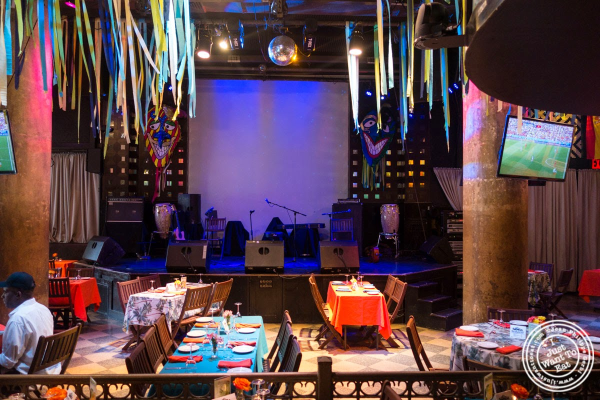 image of dining room at Sounds Of Brazil SOB's in NY, New York