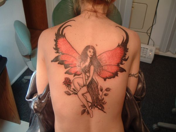 Angel Tattoos for Women