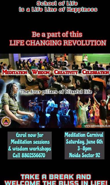 Meditation Carnival in Sector 92 Noida