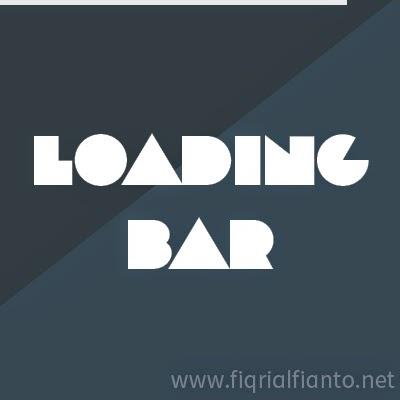 Membuat Loading Bar Seperti Youtube