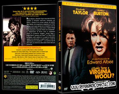 Quien Teme a Virginia Woolf [1966] | Caratula | Cine Clásico