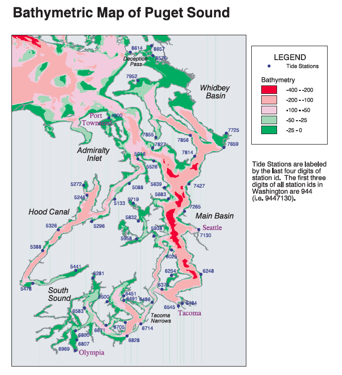 David Burch Navigation Blog Tides In Puget Sound