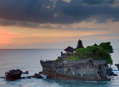 Tanah Lot Temple or Pura Tanah Lot