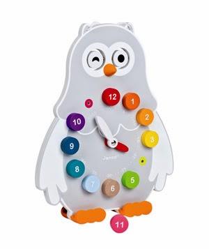 Owly Clock