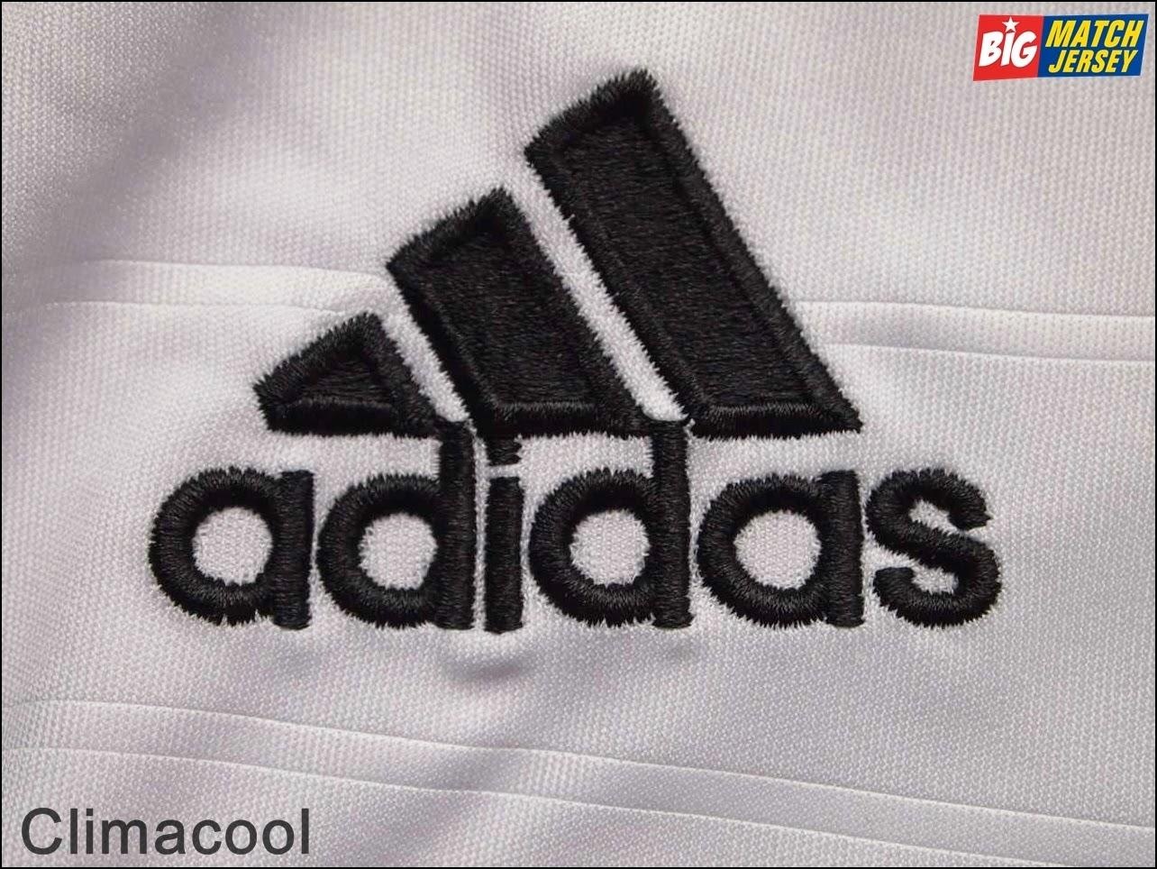 Logo Apparel Adidas Pada Jersey Club Climacool Adalah Bordir