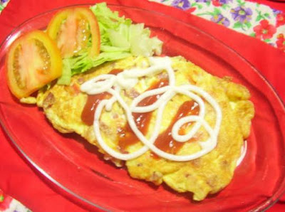Resep membuat omelet telur keju sederhana