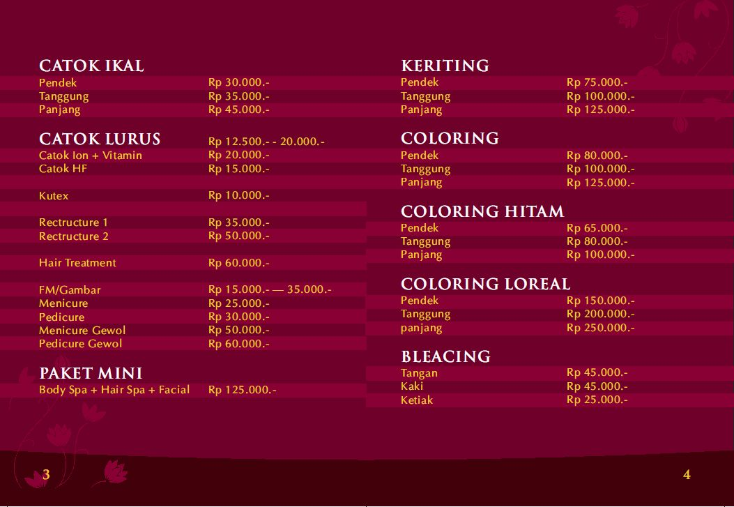 Tour in jogyakarta flaurent salon for F salon jaipur price list