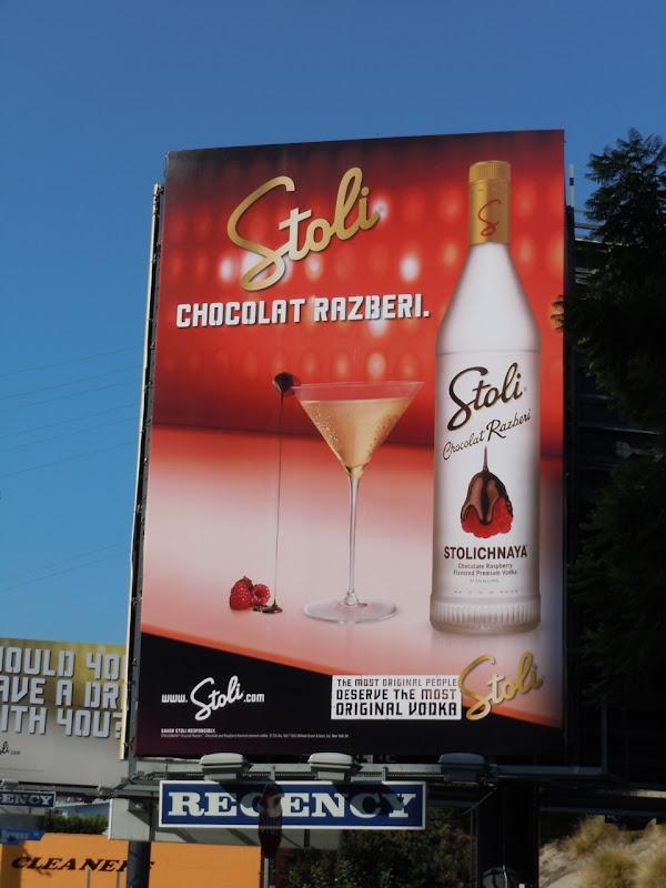 Stoli Chocolat Razberi billboard