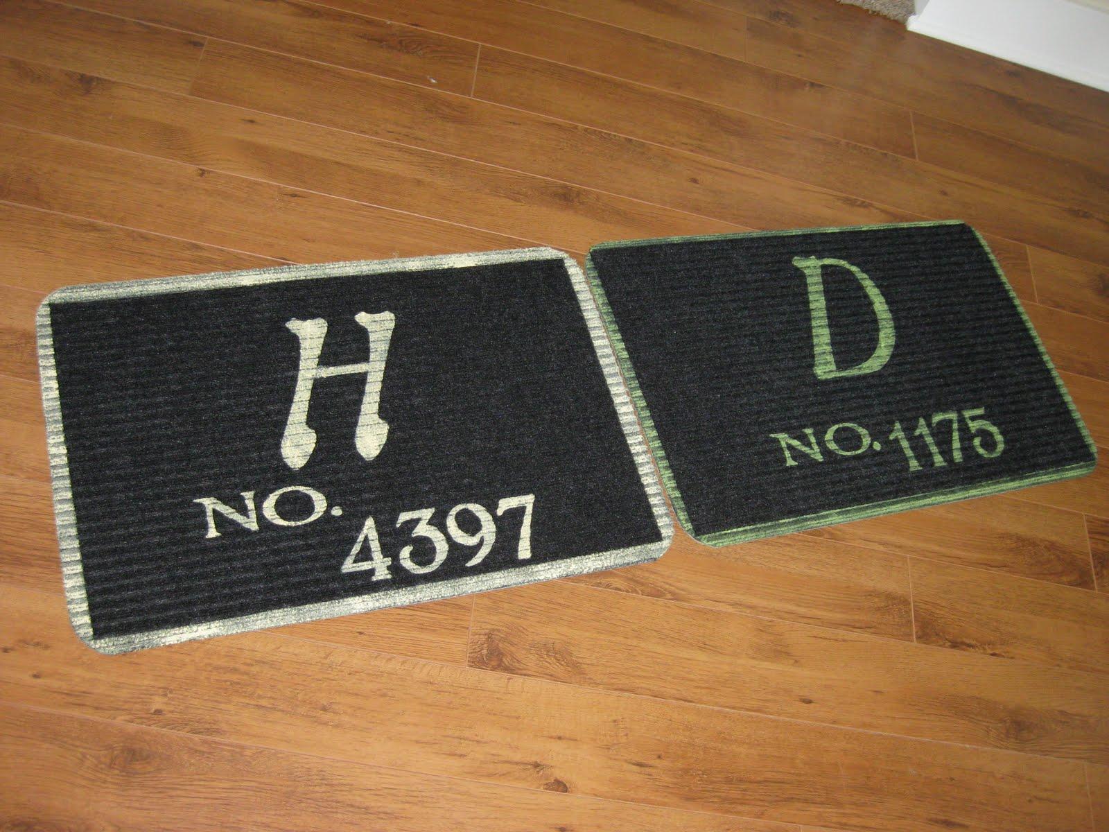 Hems And Haws Monogram Doormat Part 2