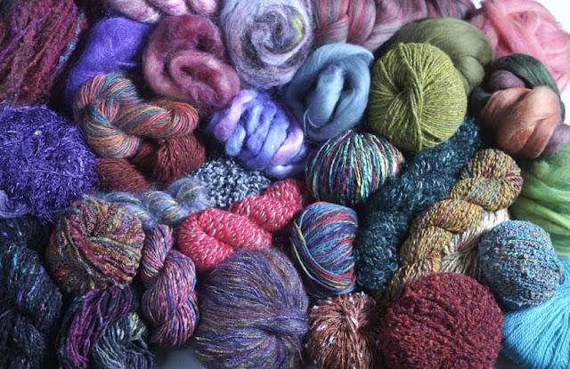 Из чего делают нитки для вязания 94