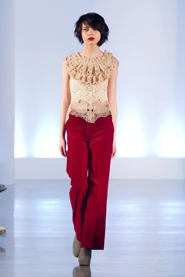 Eco fashion week, efw06, eco fashion, thrift chic challenge presented by value village styled by Sandy Joe Karpetz