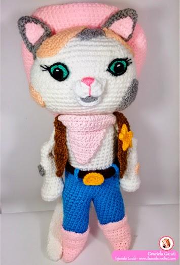Sheriff Callie Crochet: paso a paso gratis el amigurumi ...