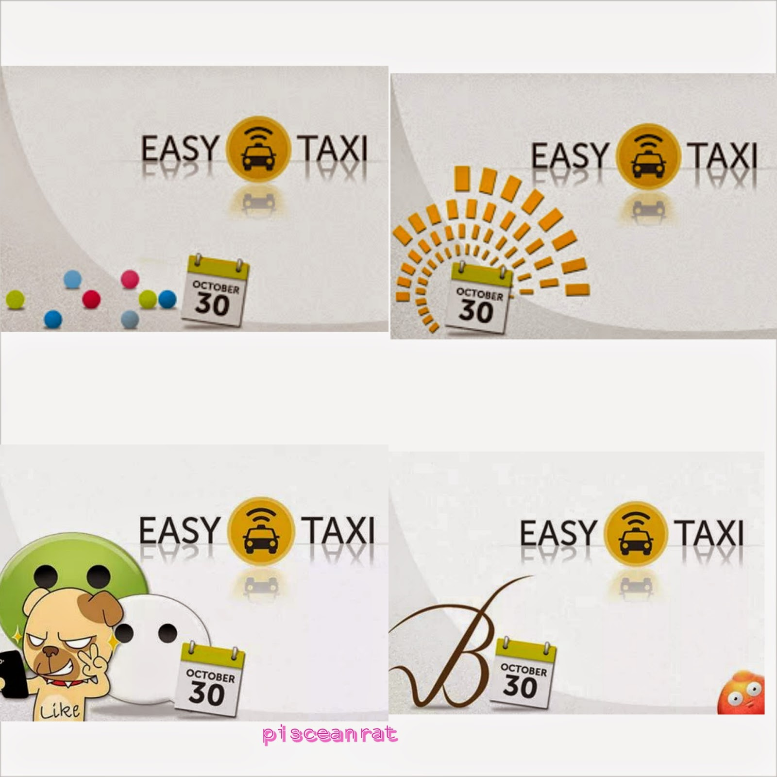 easy taxi smart sun belo we chat
