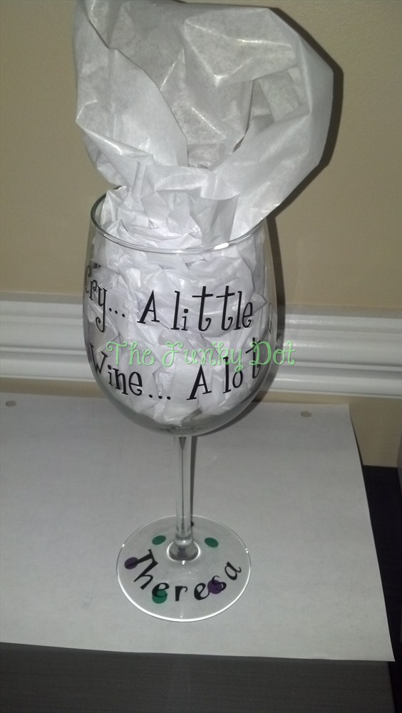 The Funky Dot Funky Wine Glasses