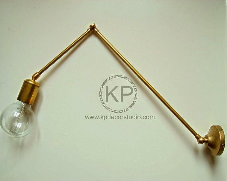 lamparas industriales artesania en laton