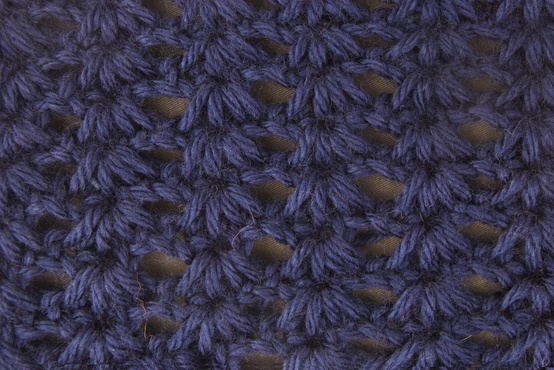 Some Nights: Tunisian Crochet: Tunisian Cluster Stitch