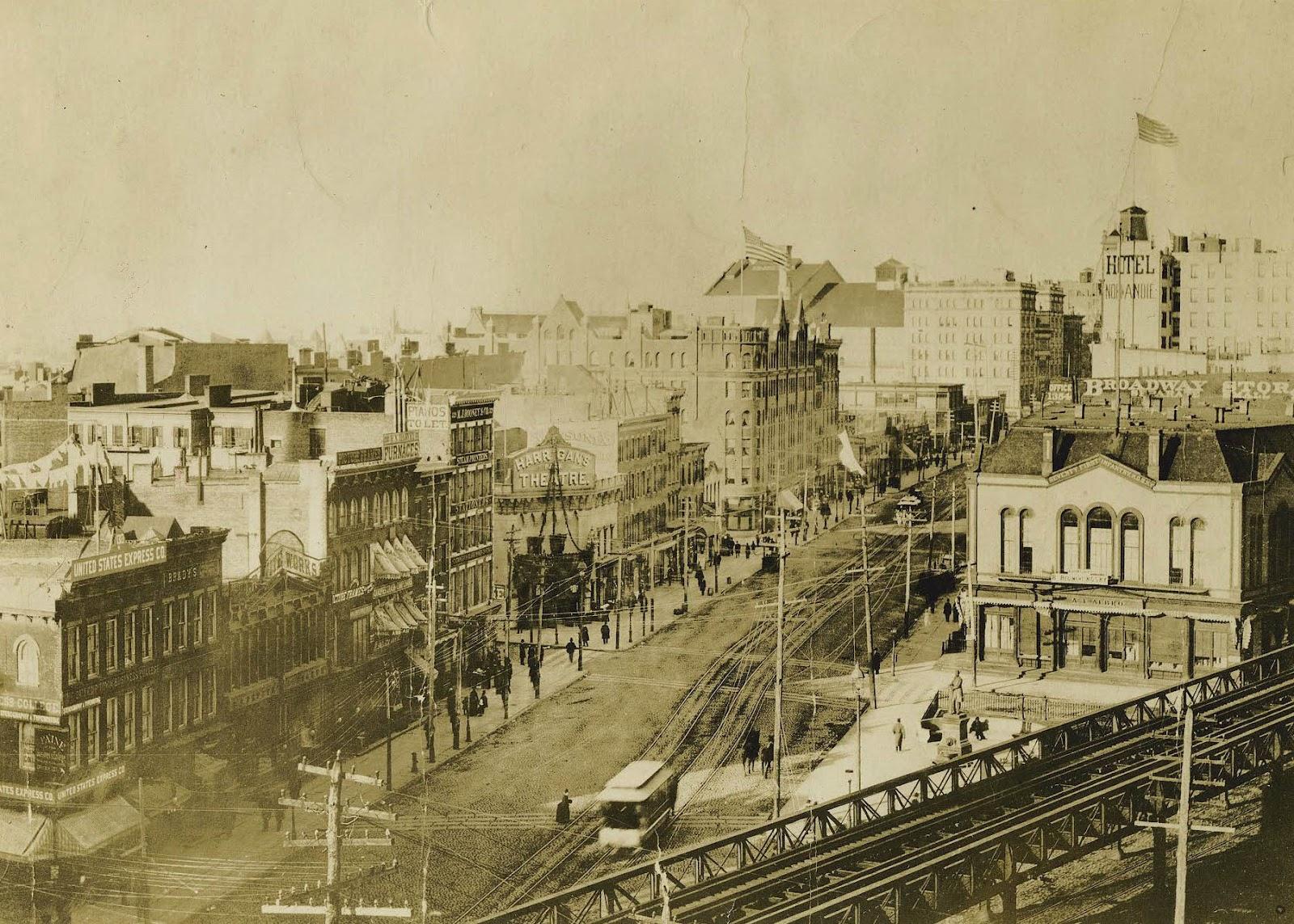 new york history geschichte herald square ca 1888. Black Bedroom Furniture Sets. Home Design Ideas