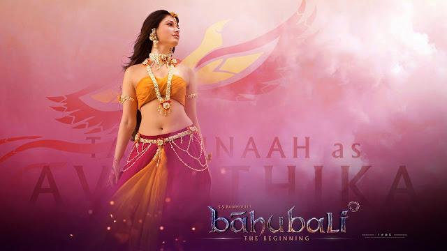 Baahubali Poster Avantika First Look | Tamannaah Queen