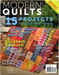 Modern Quilts Unlimited Summer 2014