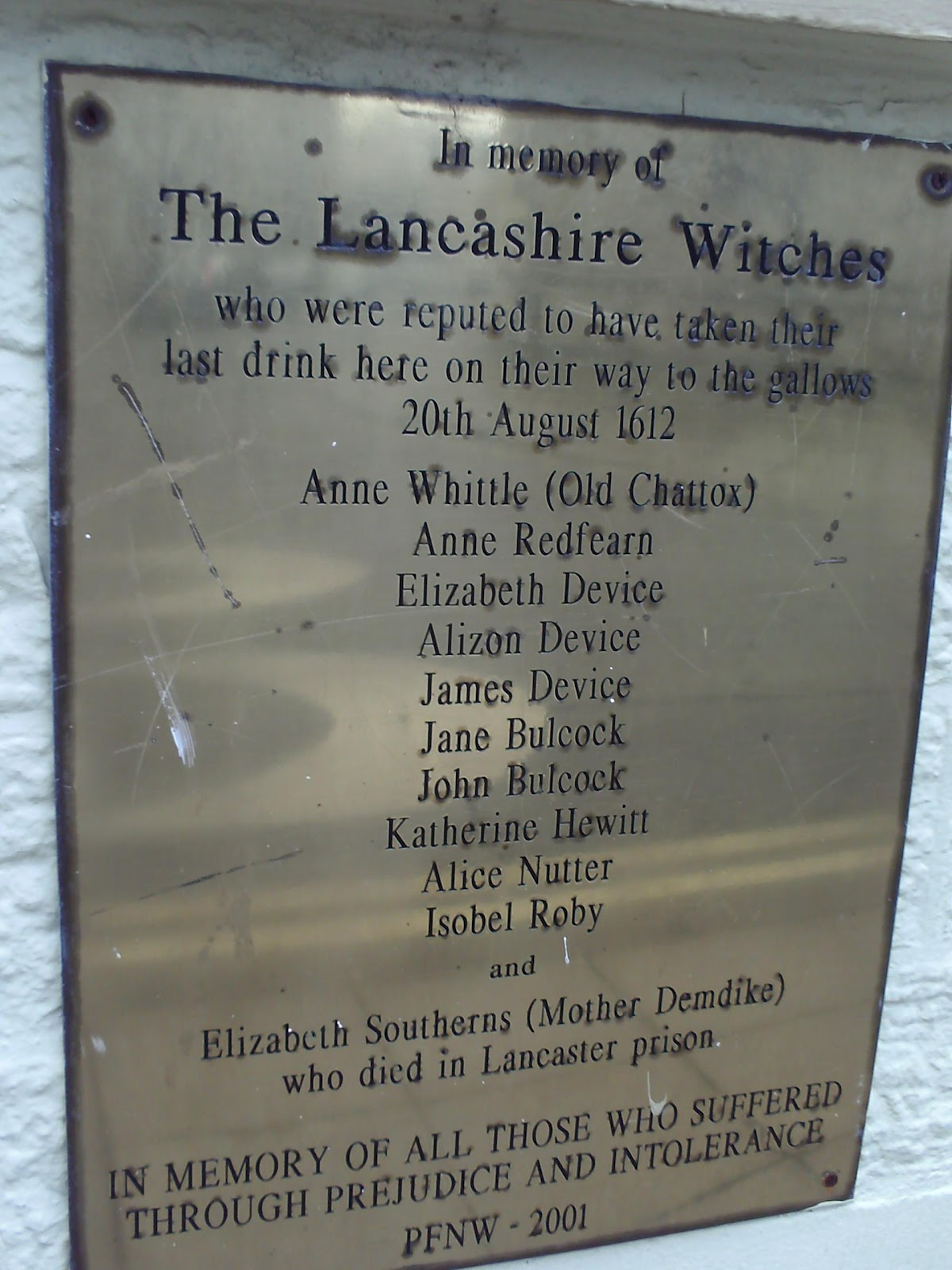 the the pendle witches essay The lancashire witches histories and stories robert poole published by manchester university press this book is the first major study of england's biggest and best.