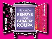Promoção Renove seu Guarda-Roupa Marisa www.guardaroupamarisa.com.br