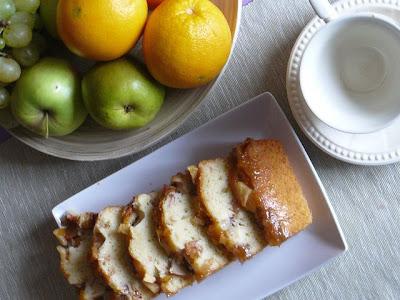 Ciasto jogurtowe z jabłkami i gruszkami