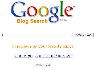 Referencer son blog sur le moteur de recherche de blogs Google