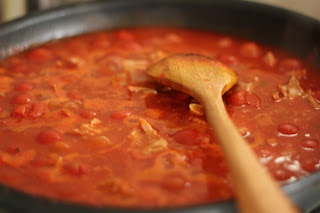 Pasta cá ngừ, cà chua 3