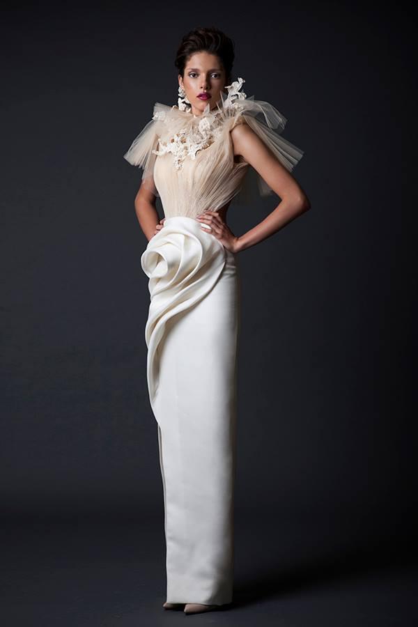 Vestidos de novia artisticos By Krikor Jabotian.