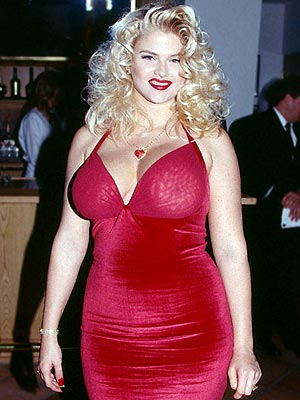 Not fat anna nicole smith topless
