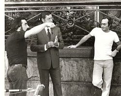 Martin Scorsese directs Jerry Lewis in the 'King of Comedy' As Arnon Milchan looks on