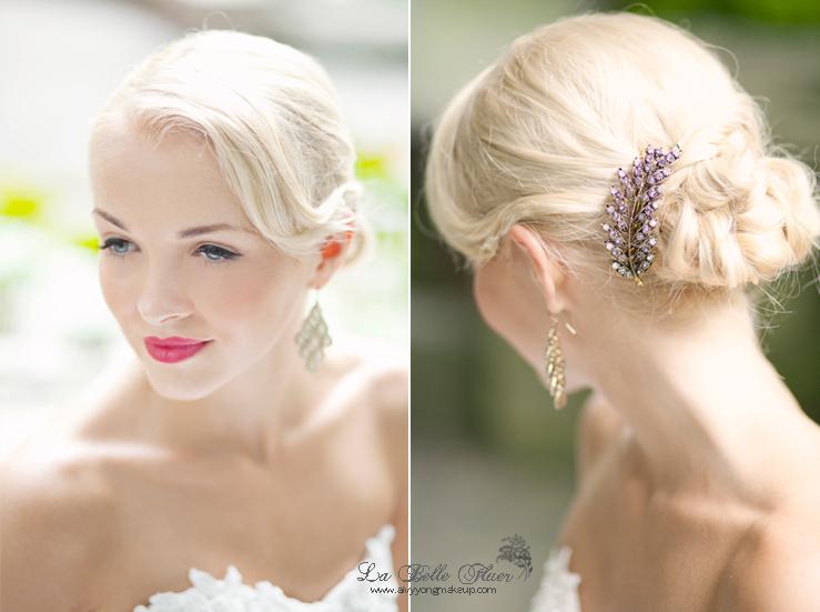Vintage Wedding Makeup Artist : Aivy Yong air brush bridal make up - professional makeup ...