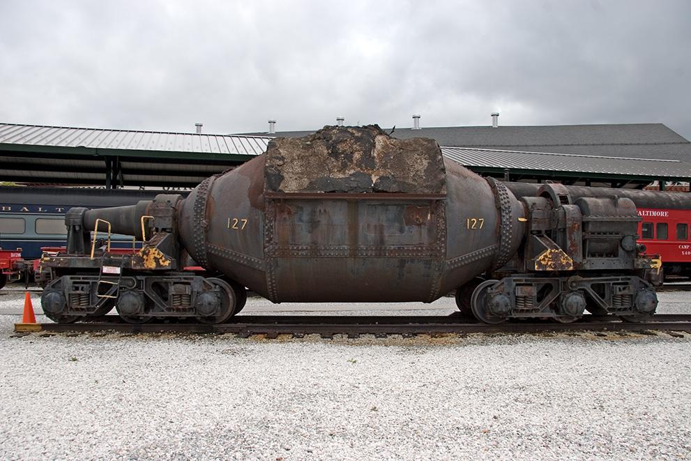 Mdrails Hot Metal Car 127 B Amp O Railroad Museum
