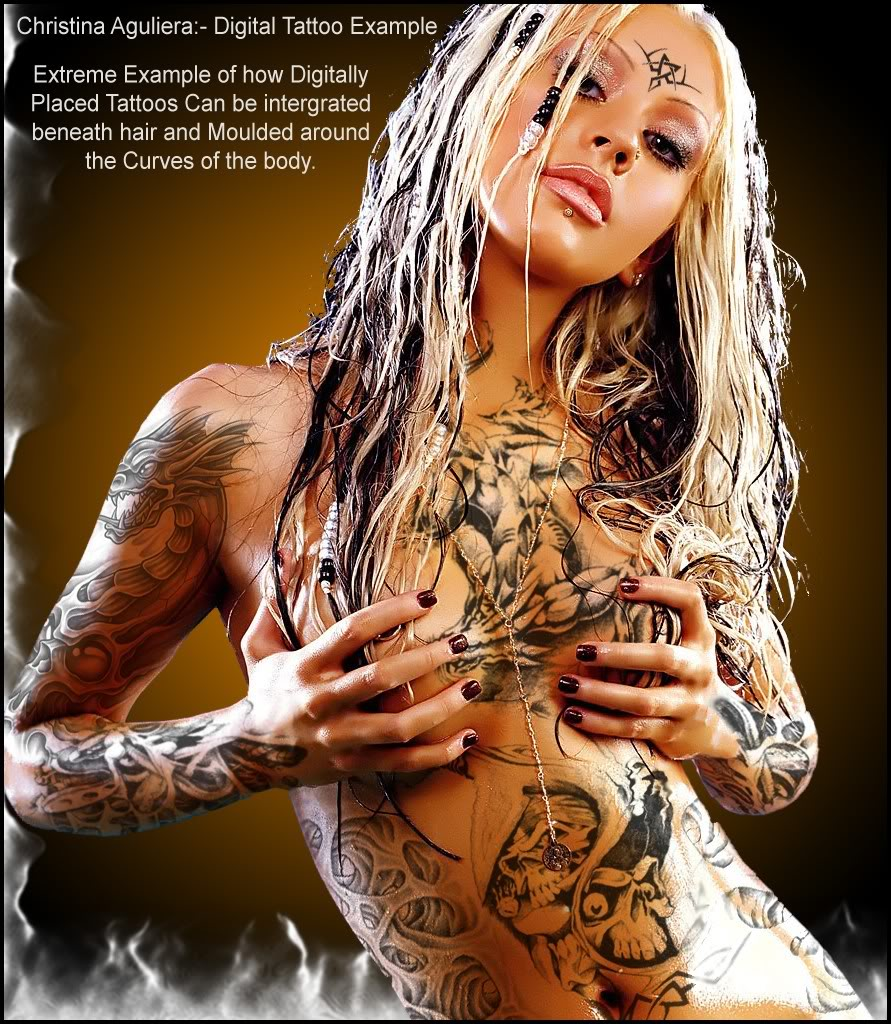 extreme nude tattoos for girls