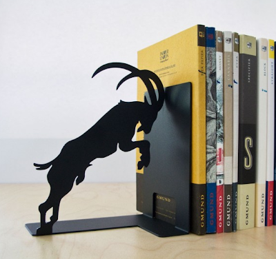 goat bookends