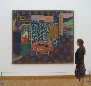 Matisse int rieur aux aubergines figuration et image les for Interieur aubergine