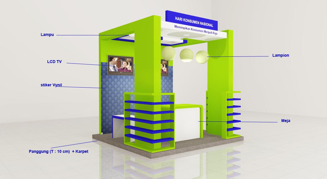 Booth Pameran 3 x 3 M - Khoirul Booth